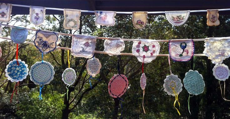 Different and unusual bunting