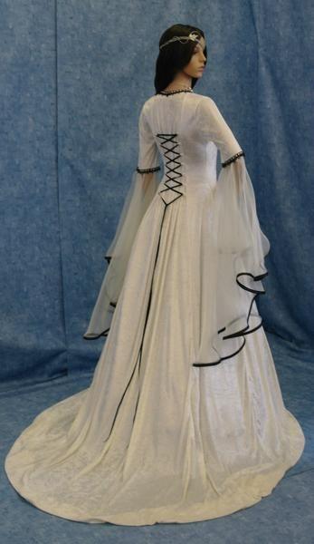 Renaissance Handfasting medieval wedding dress LOTR: Wedding Dressses, Dresses Lotr, Medieval Wedding Dresses, Renaissance Handfasting, Gowns, Costume, Handfasting Medieval, Renaissance Wedding Dresses, Medieval Dresses