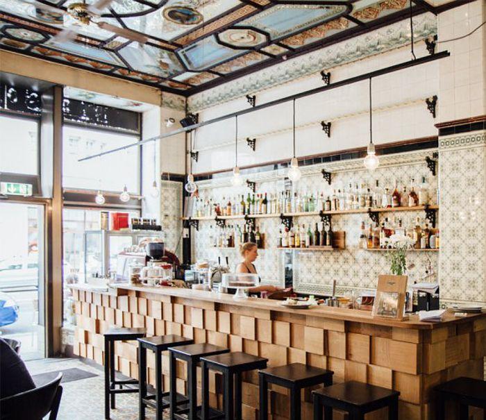 Fleischerei Bar in Leipzig, Germany. Photographed by Daniel Faro
