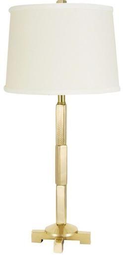 Table Lamp WILDWOOD LAMPS ARTEMIS II Stacked Blocks Block 2-Light Herrin WL-1048