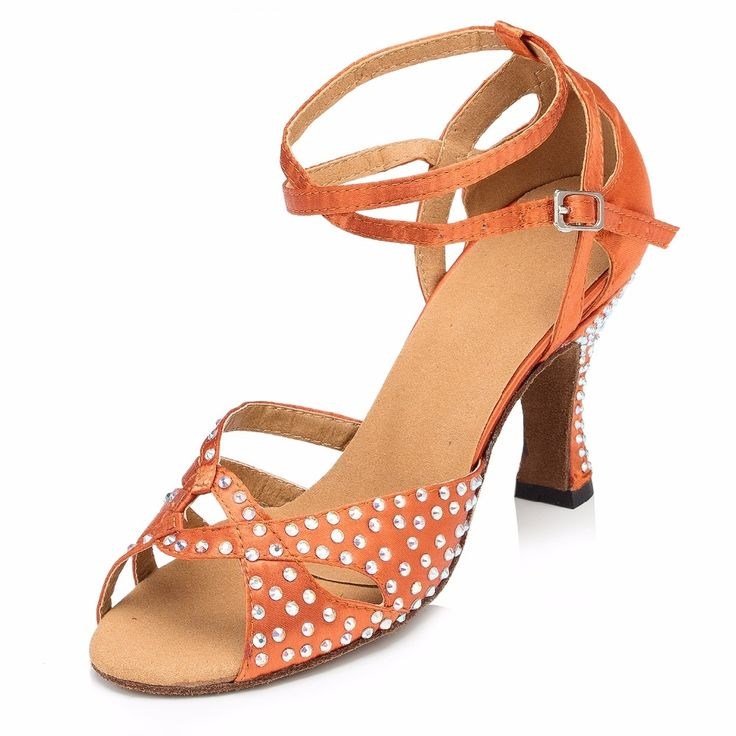 (61.58$)  Buy here - http://ai24v.worlditems.win/all/product.php?id=32795494572 - 8CM High Heels Women Latin Dance Shoes Red Women Jazz Tango Salsa Ballroom Dance Shoes Zapatos De Baile Latino Mujer Plus Size