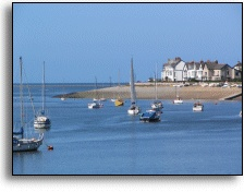 Deganwy, Wales. Try The Quay Hotel, great place to stay.