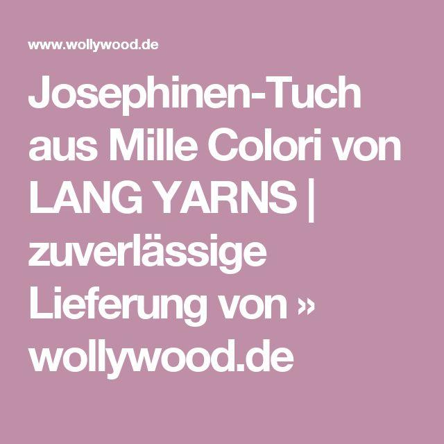 Josephinen-Tuch aus Mille Colori von LANG YARNS | zuverlässige Lieferung von » wollywood.de