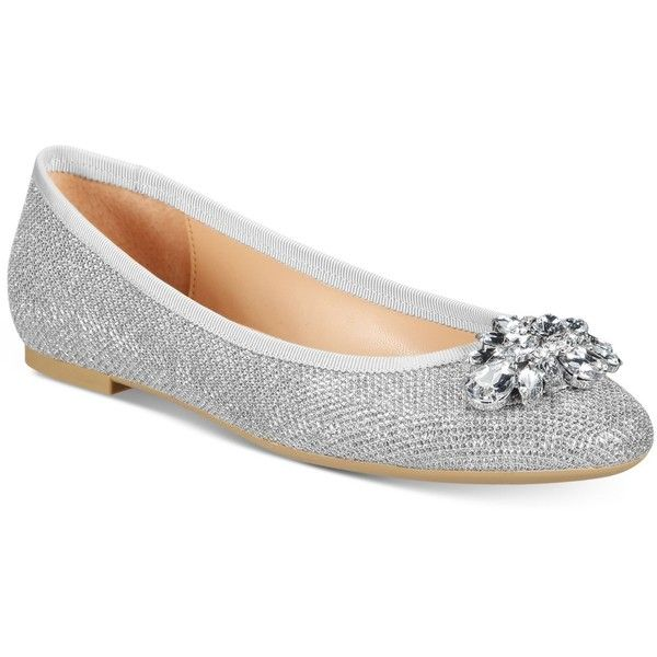 25 best ideas about silver flat shoes on