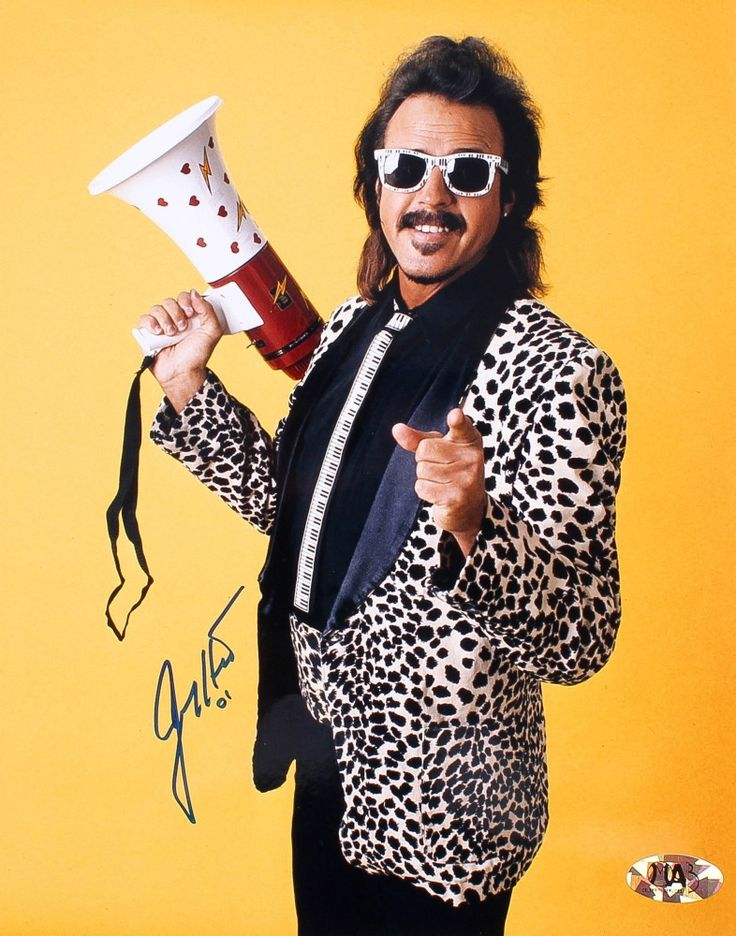 Jimmy Hart Signed 8x10 Photo