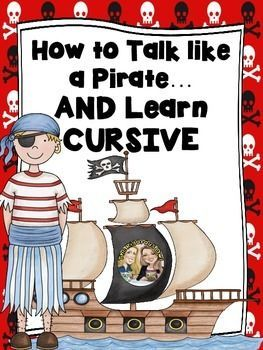 Ahoy Matey! Beware! This is not your typical cursive practice!Want a fun way for your little buccaneers to practice writing in cursive? Your treasure map has led you to the correct place!Those little landlubbers will learn fun pirate vocabulary, while learning each letter in cursive!