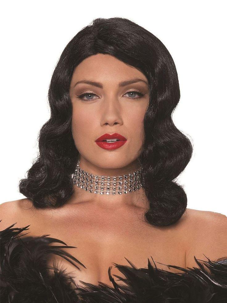 Femme Fatale Red Blonde Black Adult One Size Female Fancy Dress Wigs - The Dragons Den Fancy Dress