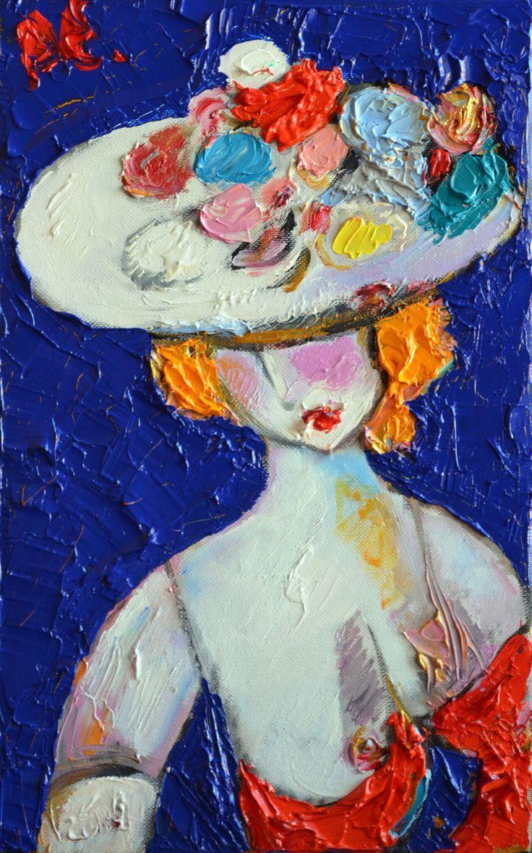 """""""Капризная дама"""", 2016, х.м., 40х25, 25 т.р."""