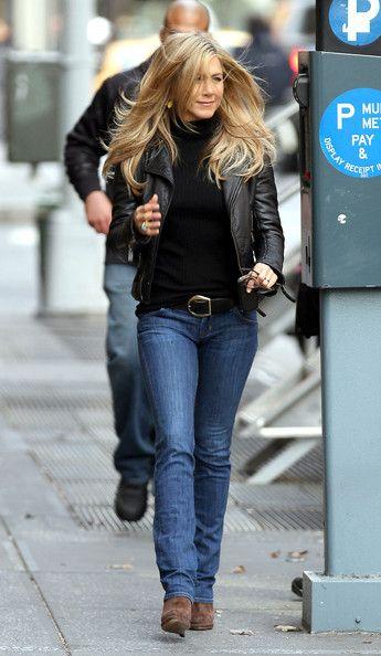 Jennifer Aniston. Impuso una tendencia de cabello.