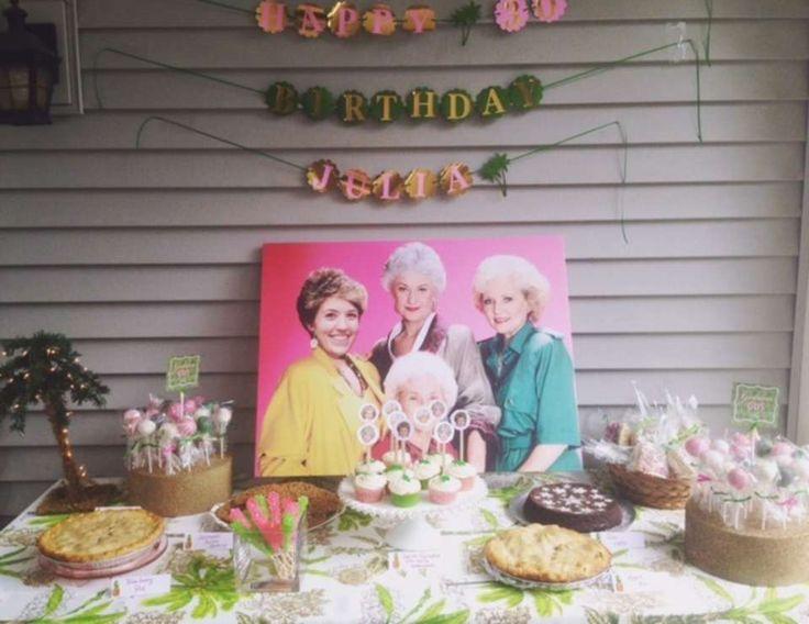 A Golden Girls Themed 30th Birthday Bash