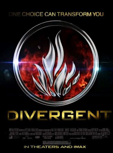 Divergent movie poster! YES! So happy they are making these books into a movie too!!