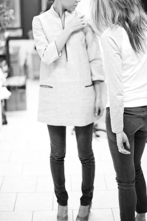 tunic...with jeans, with leggings...always perfect.