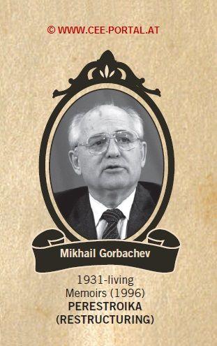 Mikhail Gorbachev 1931- Memoirs (1996) PERESTROIKA (RESTRUCTURING)