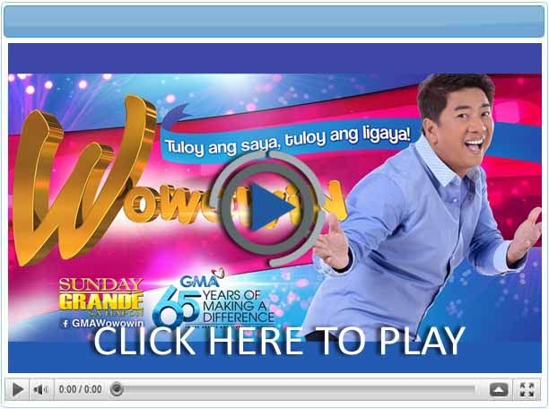 Wowowin - Pinoy Show Biz  Your Online Pinoy Showbiz Portal