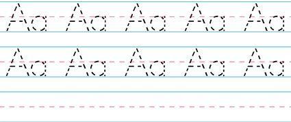 Awesome #printable handwriting worksheets @Just Mommies