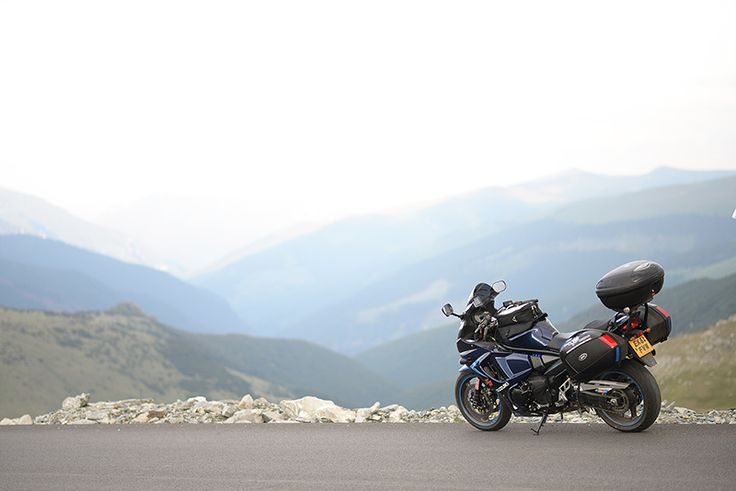 On top of the world at Motoride Transylvania