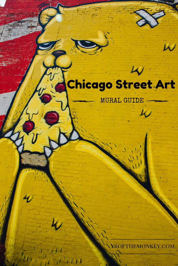 Chicago, USA Street Art Murals and where to find them. Pilsen and Wicker park public art and grafitti.