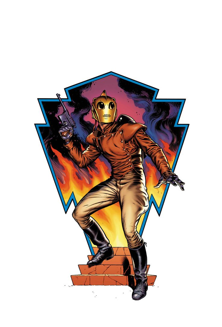 The Rocketeer by Dave Stevens | nerd | Pinterest | The o ...