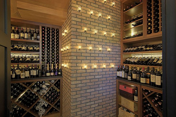 The best interior design solution for your refined wine bar. | See more about wine storage and wine cellar.