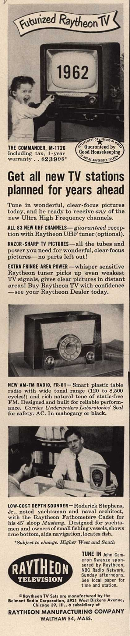 Mindy put on a big smile for Mom and her camera, but she was actually getting really tired of the one show on their TV, which starred a giant '1962.'