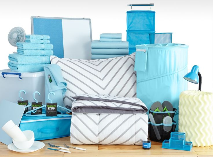 Buy your Twin XL bedding, organization supplies, towels, and more in this package! Get your college stuff, cute dorm bedding, guys dorm bedding, and the rest of your dorm list of items all in one bundle. Need dorm decorating ideas? Customize your package with over 50 colors and designs to choose from.