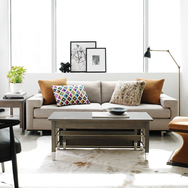 New in! My Lawson Contemporary Sofa provides the ultimate in urban aesthetics, and what better place to display them in than a light and bright warehouse apartment! http://www.maxsparrow.com.au/collections/new-products/products/lawson-contemporary-sofa