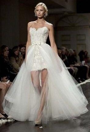 leg band under wedding dress kurzes hochzeitskleid sommer
