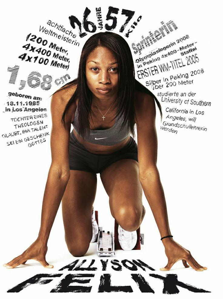 Allyson Felix | By Braschler/Fischer || #Sport #Athletics.