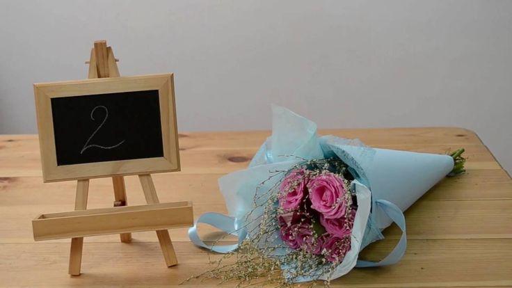 2 способа упаковать букет в конус | ArtHolidays