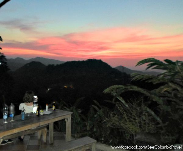Minca, in the Sierra Nevada de Santa Marta, is home to some spectacular sunsets