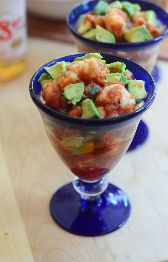 Mexican Shrimp Cocktail - From Valerie's Kitchen