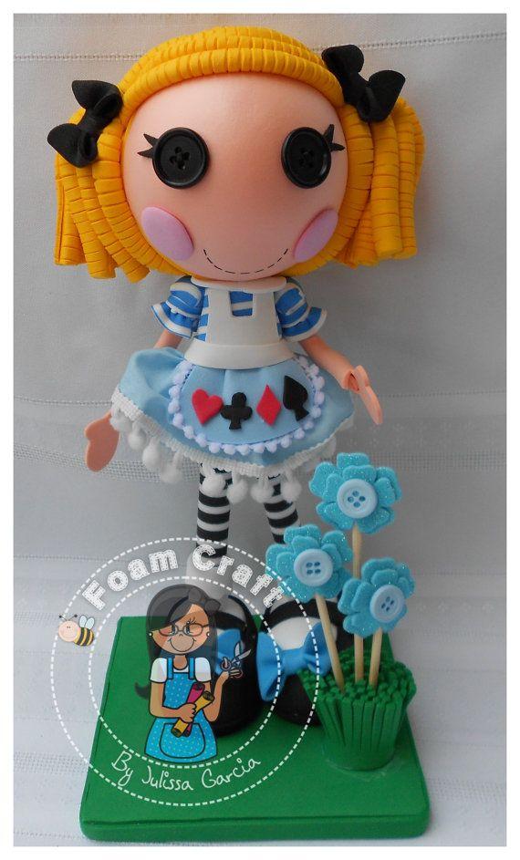 Alice in lalaloopsyland foam doll