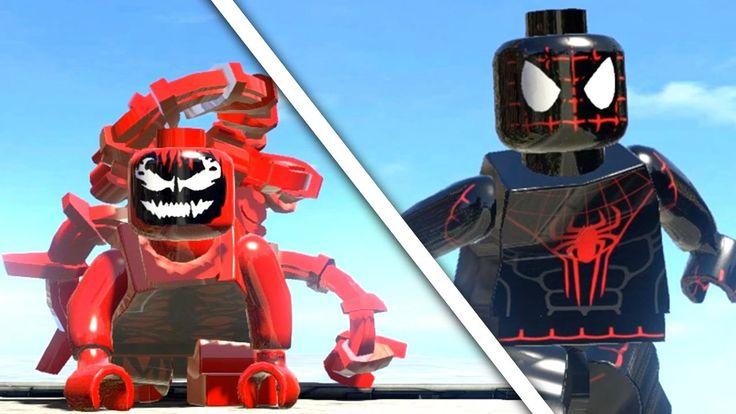 Ultimate SPIDERMAN vs CARNAGE (LEGO SPIDER MAN) LEGO Marvel Super Heroes