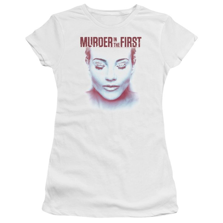 "Checkout our #LicensedGear products FREE SHIPPING + 10% OFF Coupon Code ""Official"" Murder In The First / Don't Talk-short Sleeve Junior Sheer - Murder In The First / Don't Talk-short Sleeve Junior Sheer - Price: $34.99. Buy now at https://officiallylicensedgear.com/murder-in-the-first-don-t-talk-short-sleeve-junior-sheer"