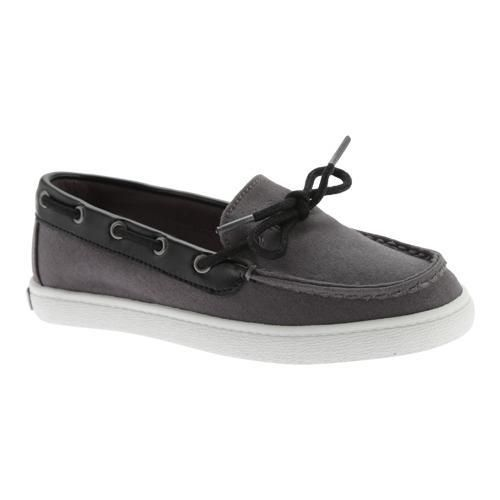 Boys' Cole Haan Pinch Camp Boat Shoe Stormcloud /Synthetic