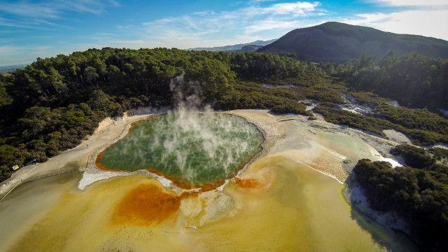 Wai O Tapu Thermal Wonderland, Rotorua, New Zealand