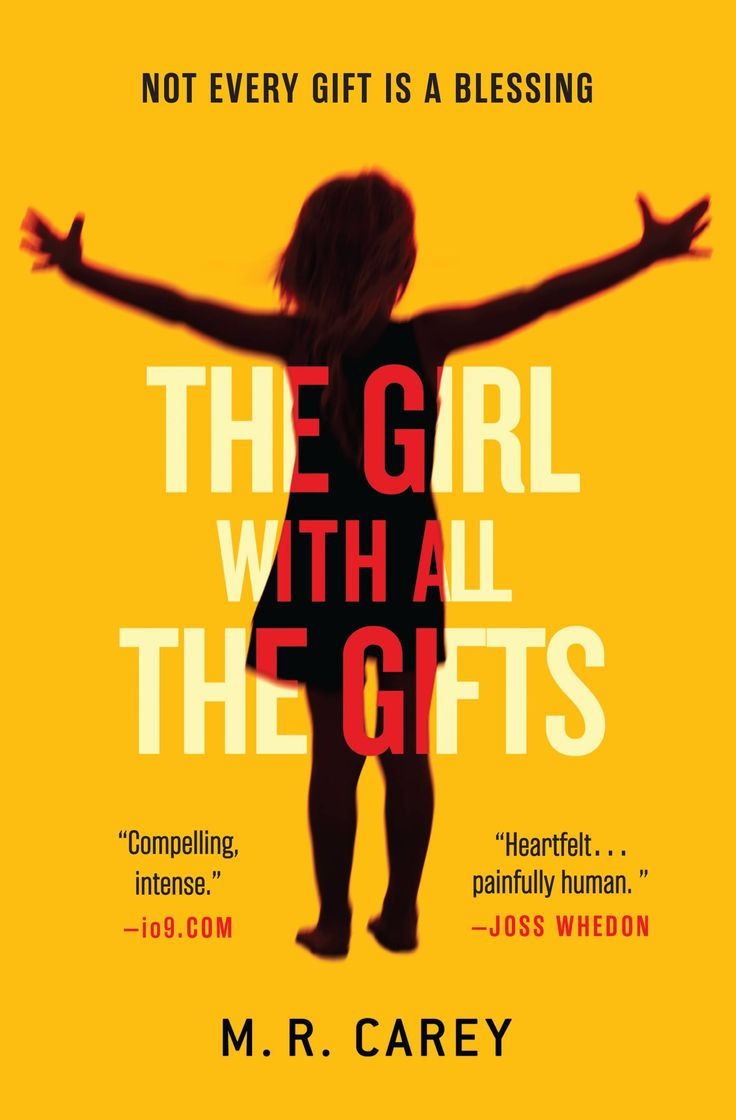 The Girl With All the Gifts-- one of the best books I have read in years.  A phenomenal thriller that breaks through genres!