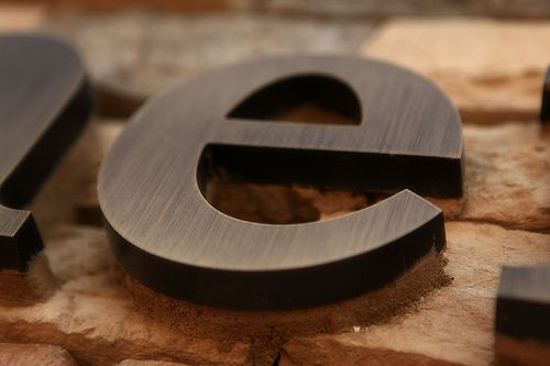 Order Bronze Letters Now – Oil-Rubbed, Brushed, Polished ...