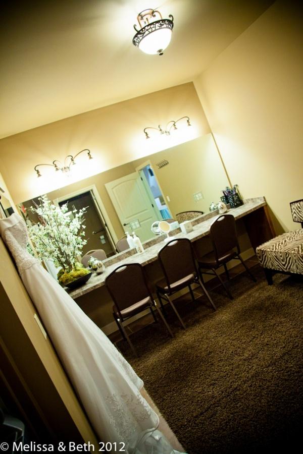 Bridal Dressing Room At La Joie Event E Kansas City Wedding And Reception Venue
