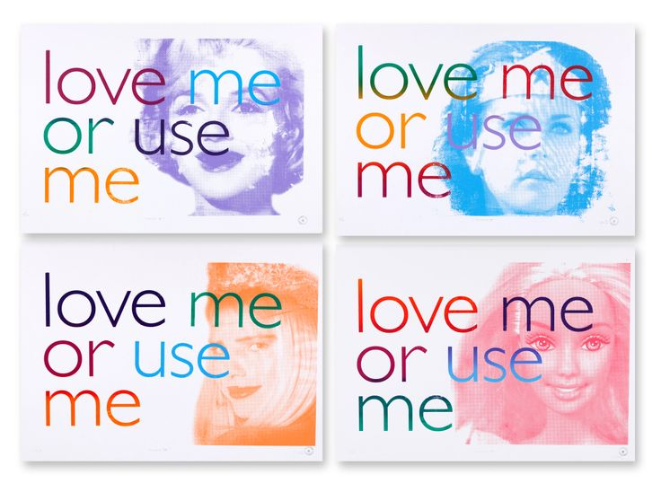 """""""Love me or use me"""""""