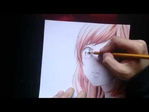 Drawing Futaba Yoshioka [Ao Haru Ride] - YouTube