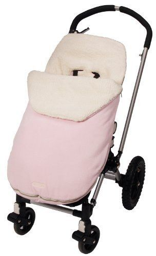Eliminates the need for blankets and jackets • Transfers easily from car seat to stroller • Machine washable • Removable top for easy temperature control