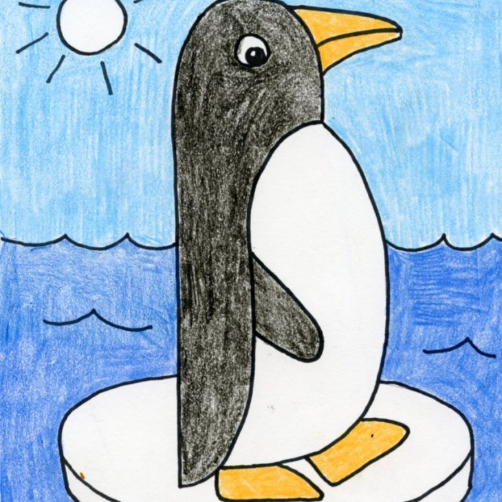 How To Draw Art Projects For Kids Penguin Drawing Easy Penguin Drawing Easy Drawings