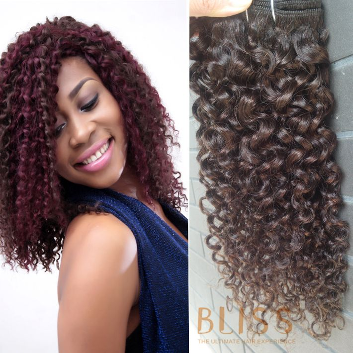 Bliss Mongolian Virgin Hair A (90G) ,Intalian Curl ,10inch Color#2, US$13.7.  Welcome To Contact : www.blisshairglobal.com sales@blisshairglobal.com What's App:+8615018494659