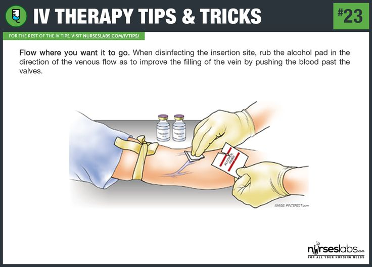how to choose a vein for iv insertion