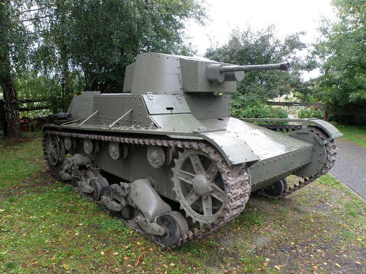 7tp - pierwszy w Europie czołg wyposażony w silnik wysokoprężny.
