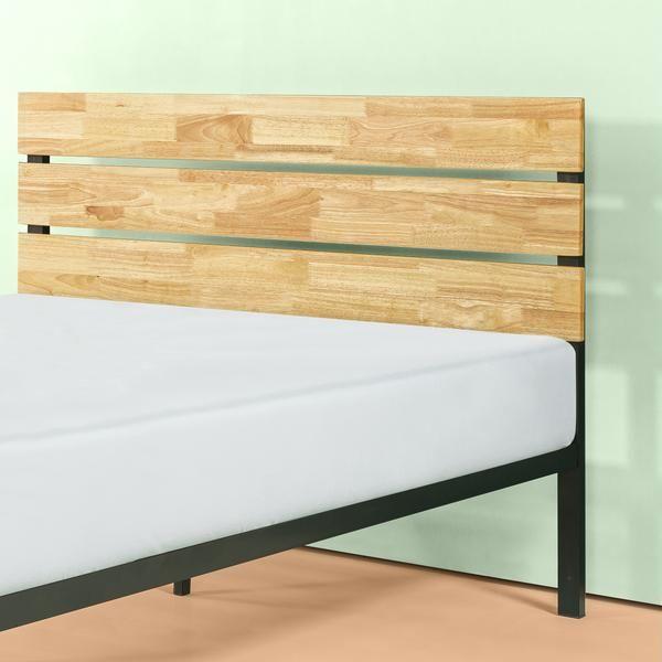 Paul Metal And Wood Platform Bed Frame Wood Platform Bed