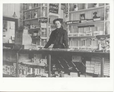 W.B. Murphy's Confectionary and Candy Store on Prince Street, Truro, Nova Scotia, circa 1900.NovaMuse