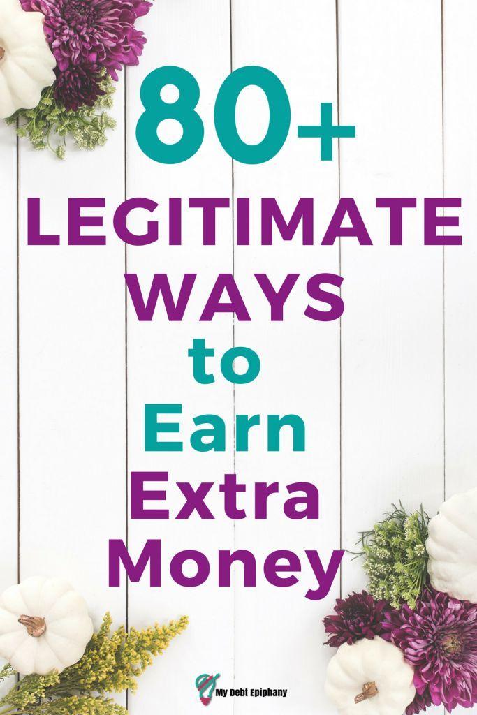 80 Legitimate Ways to Earn Extra Money