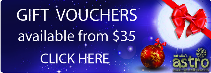 Only 4 weeks til Christmas! Get an Astrology Reading Gift Voucher from $35 at http://www.astrologyreading.com.au/#!giftvoucher/cr71